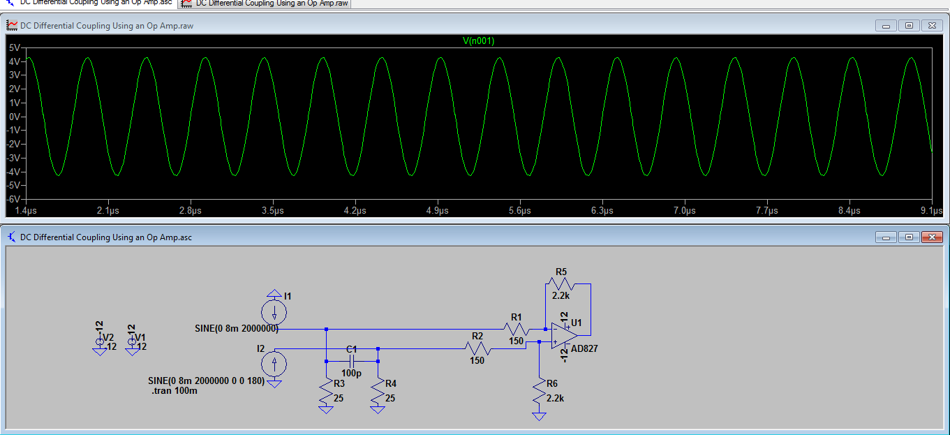 my output DAC circuit
