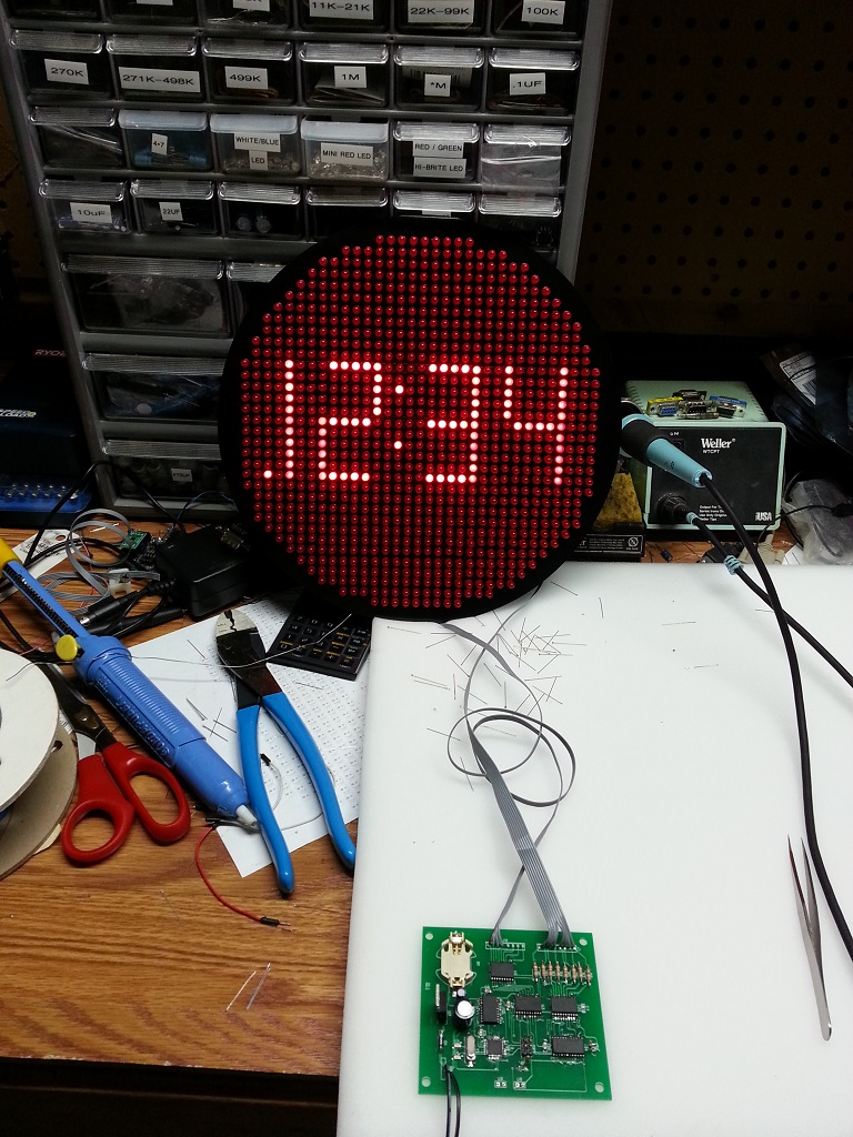 Atmega8 To Max7219 Driving 23 Large 7 Segment Display Problem Circuit Simulator 7segment Led Decoder I Admit Used The Described In Link Below For Driver But It Clearly Shows Many Of Attributes Mentioned Above