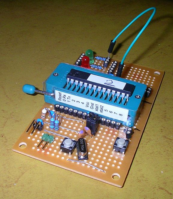 Convert an arduino board with sensors to a pcb avr