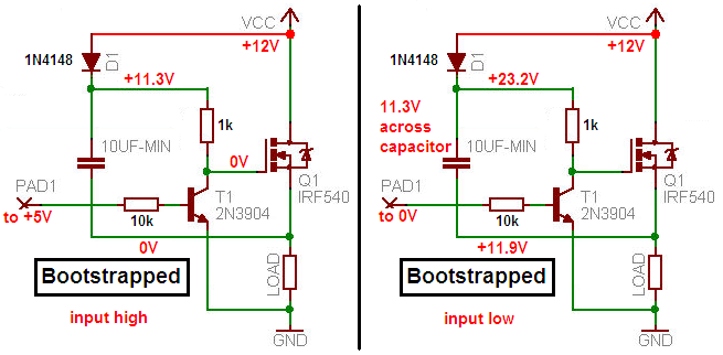 Power Supply Circuit As Well High Side Mos Fet Driver Circuit