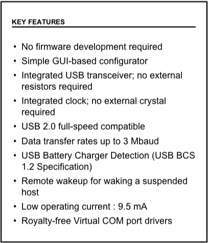 CP2102N Features
