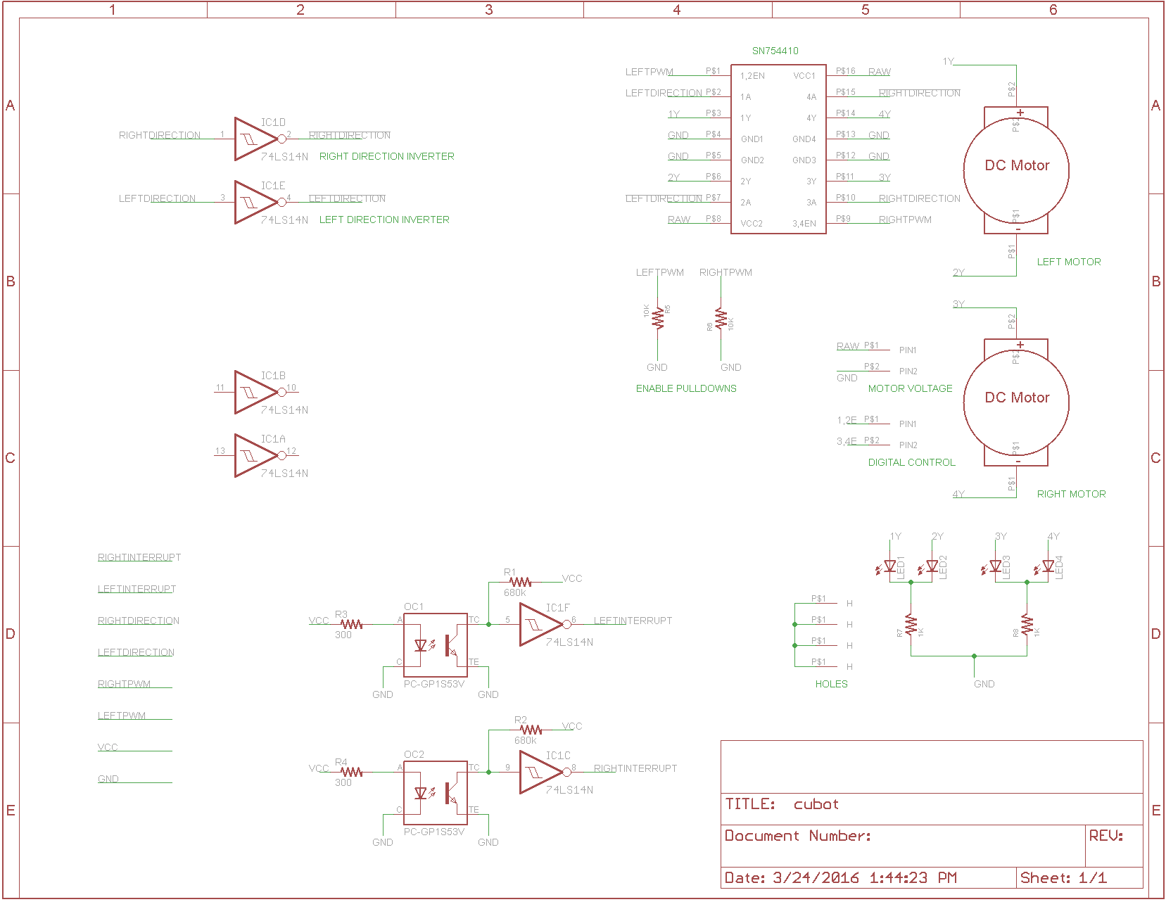 Arduino Encoder Wheel Missing Counts At Startup Avr Freaks Opto Interrupter Circuit And Here Is A The Eagle Schematic