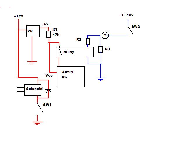 current sensing with atmel