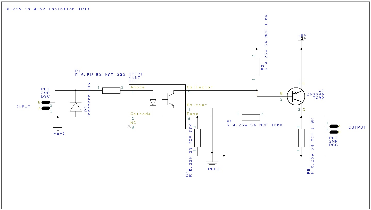 Signal Isolation Circuit : Industrial ma current loop measuring circuits