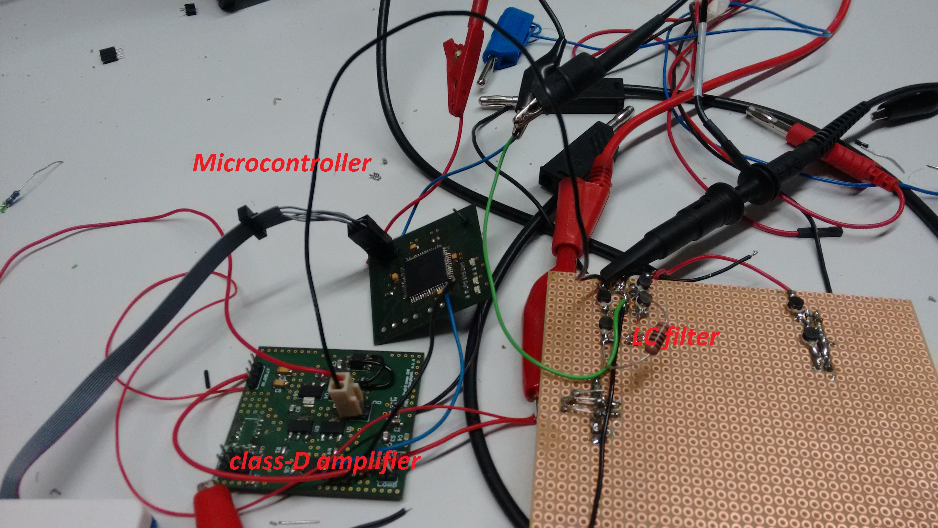 Digital To Analog Conversion Using Pwm Amplifier And Filter How Electronics Forum Circuits Projects Microcontrollers Blue Waveform Is Signal Output From Mosfet Yellow The 4th Order Butterworth