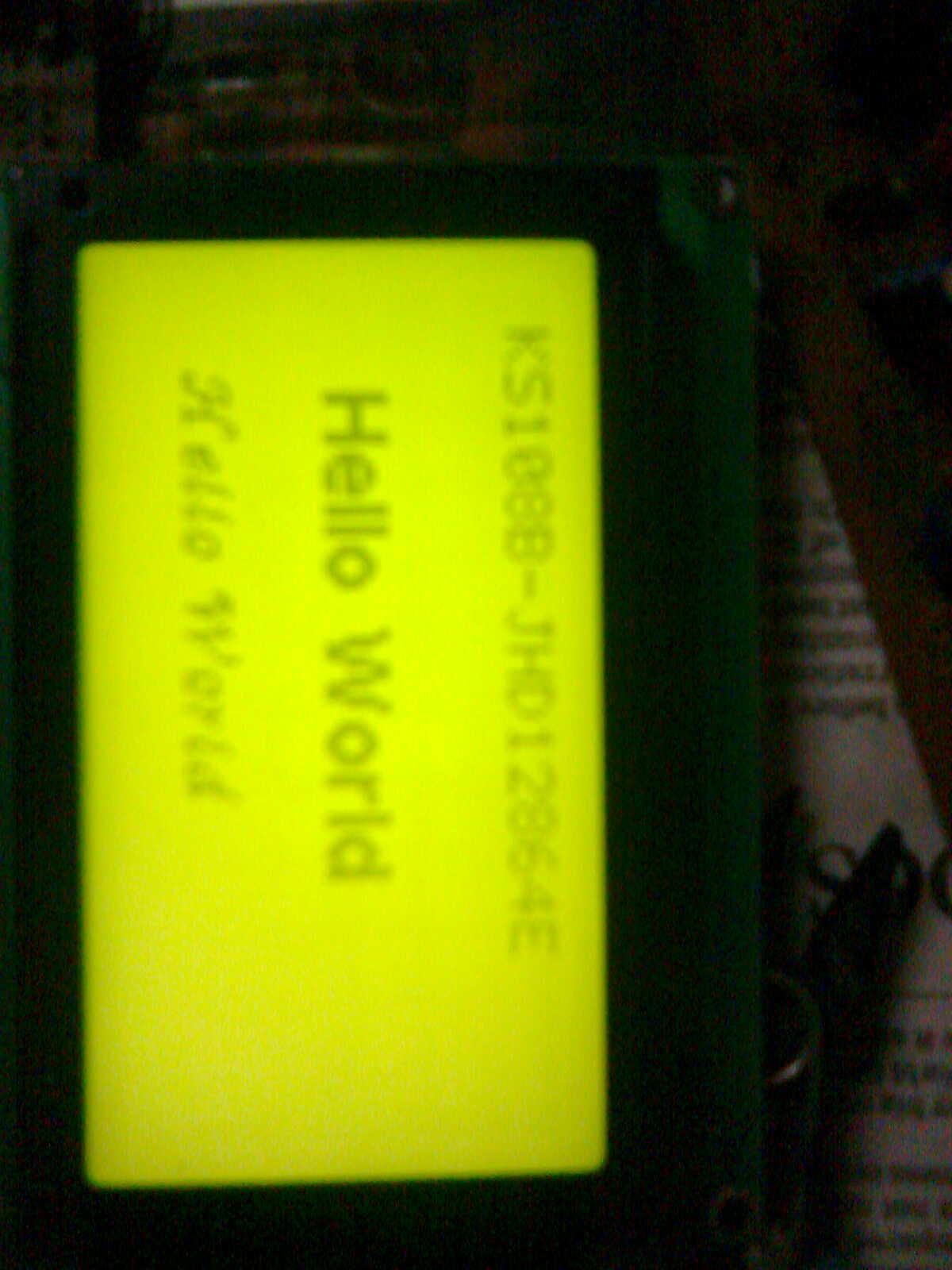 JHD 128x64 graphical LCD interface | AVR Freaks