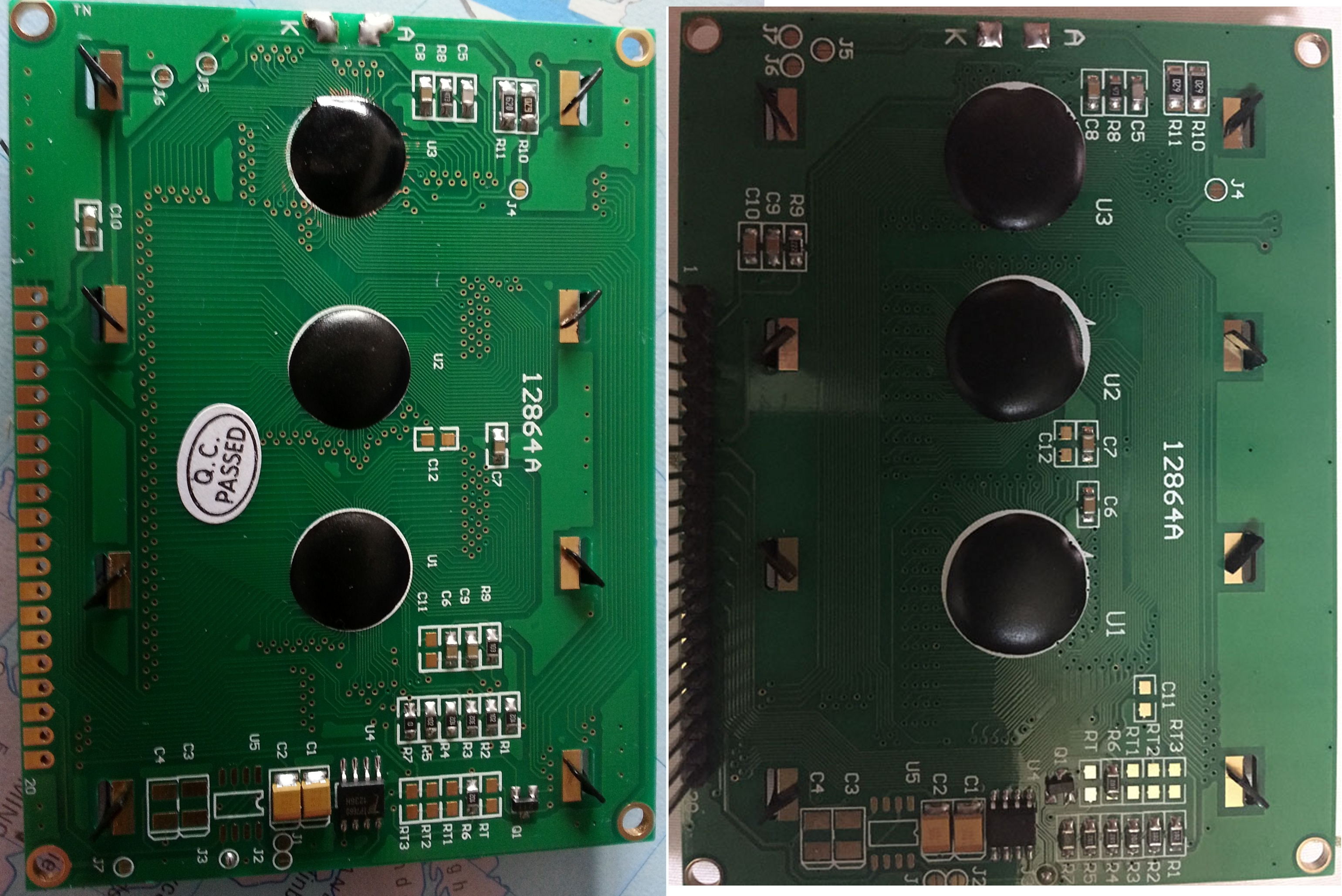 LCD labelled 12864A help requested | AVR Freaks