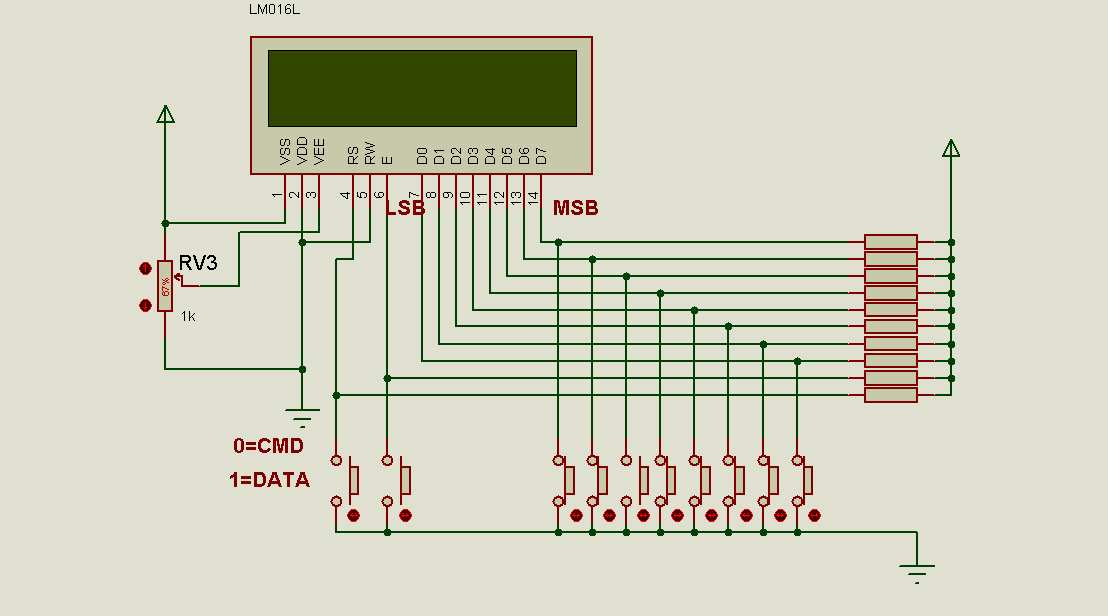 AtMega328P interface with LCD for 4bit mode | AVR Freaks