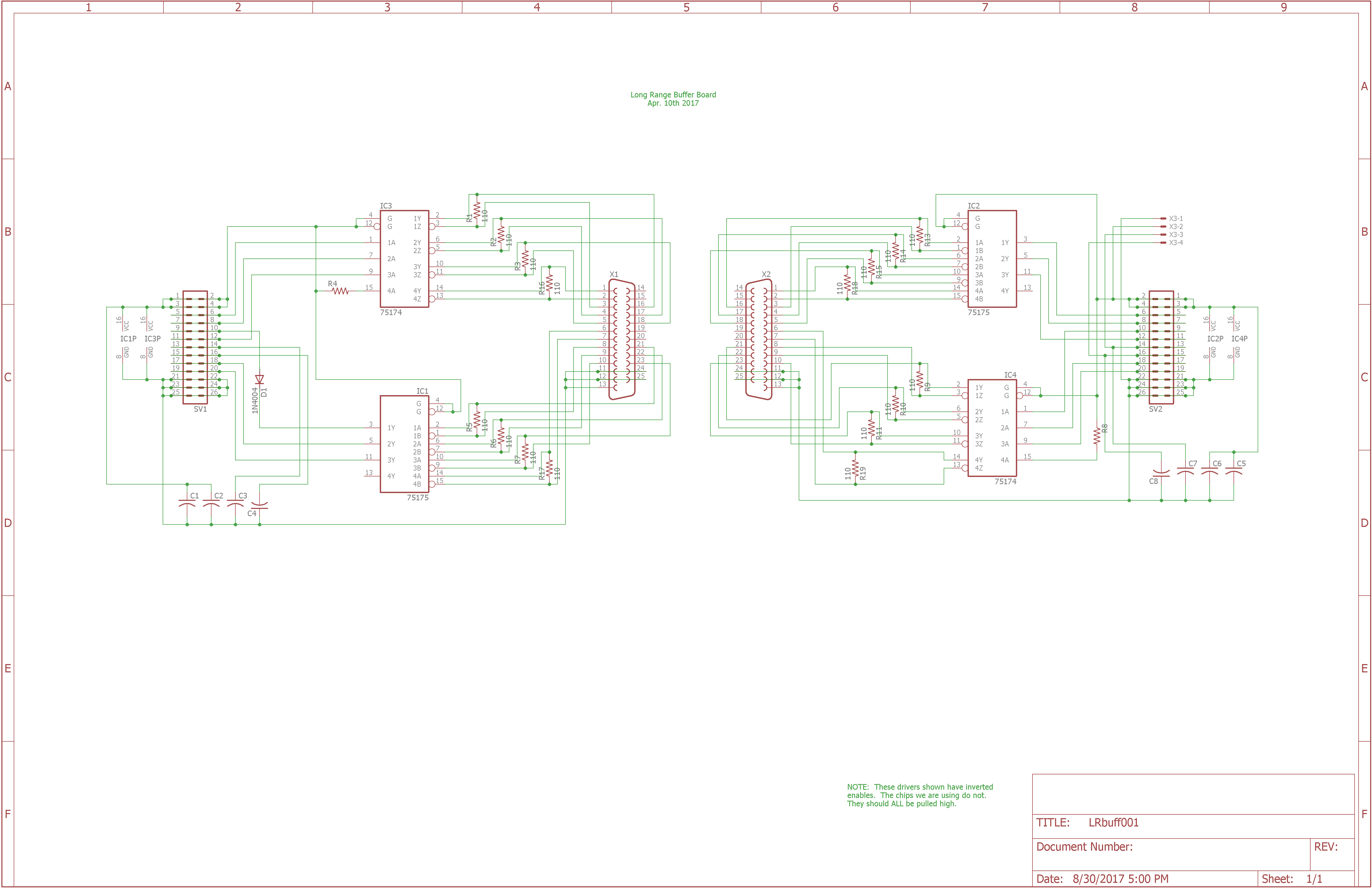And the schematic