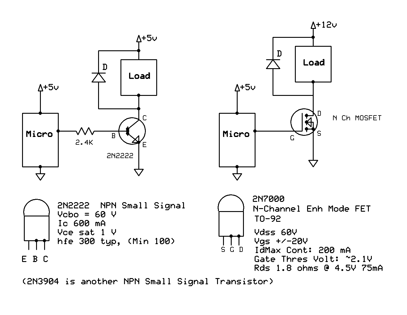 Npn As A Switch Avr Freaks Why Is My 2n2222 Transistor Not Biasing Electronics Forum Circuits Mosfet Drvr Example Ver 1