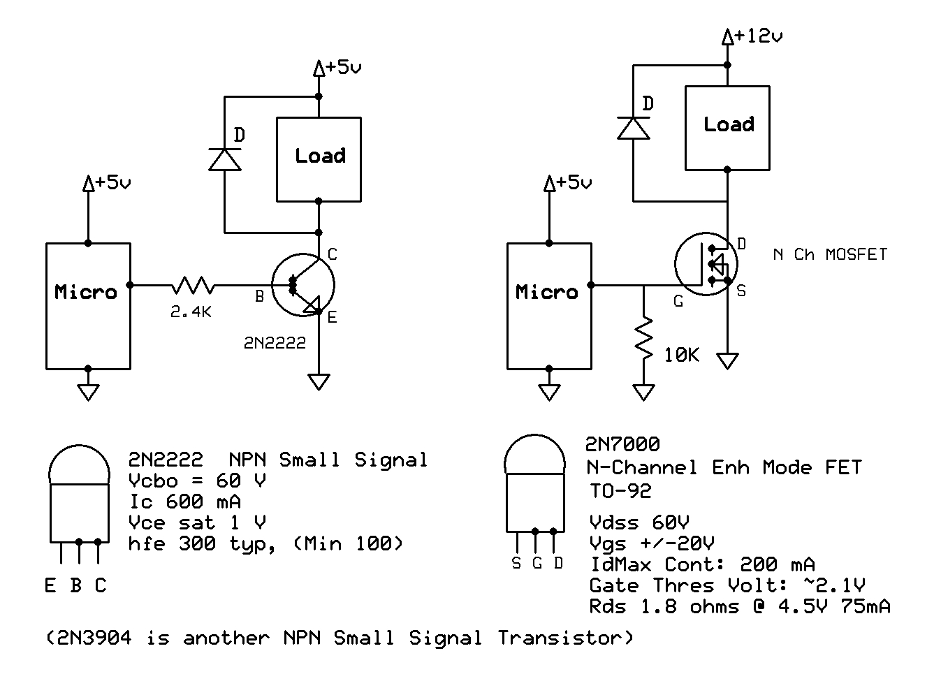 how to test a MOSFET   AVR Freaks