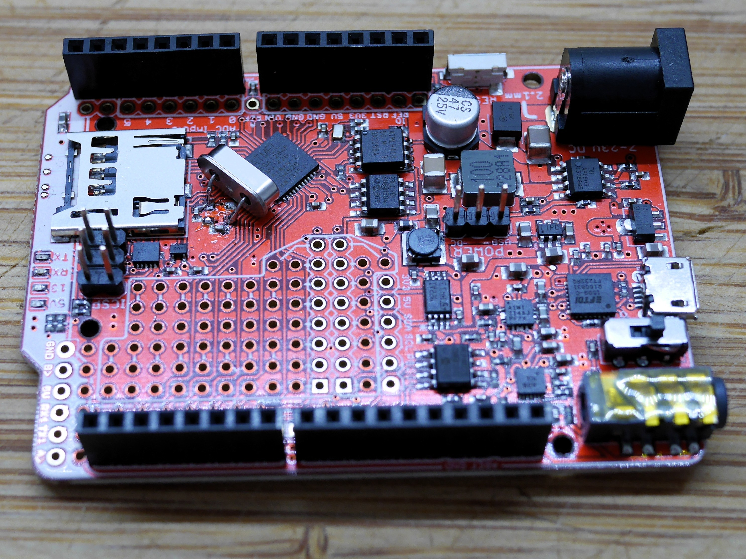 ATmega1284p - SMD crystal layout / redesign woe   AVR Freaks