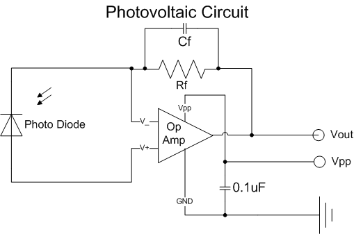 need help with photo diode    op amp circuit