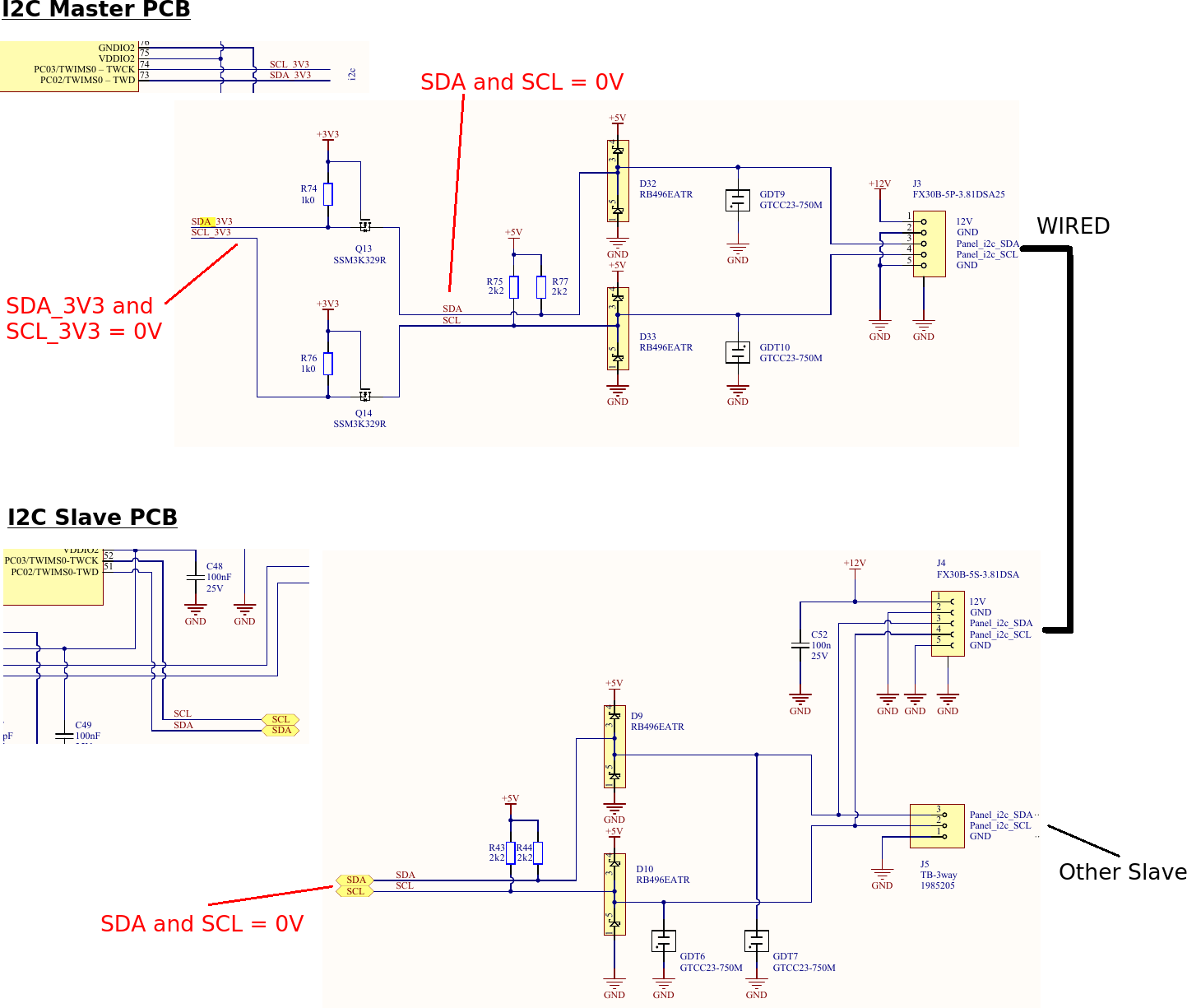 Dreaded I2C bus stuck LOW, even with basic Atmel example projects