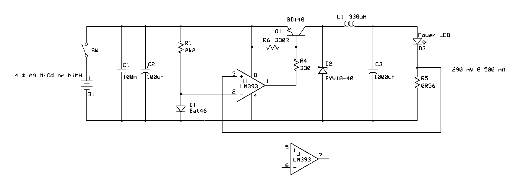 Constant Current Source Avr Freaks Amp Injector Circuit Diagram Super Edited Version With Less Components