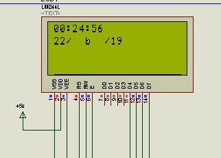 LCD screen showing converted hexadecimal values