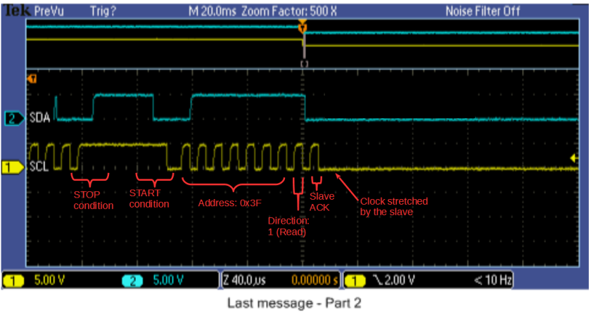 Dreaded I2C bus stuck LOW, even with basic Atmel example
