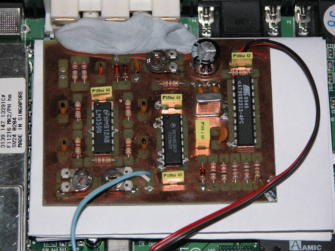 Sync Syncer with an AVR