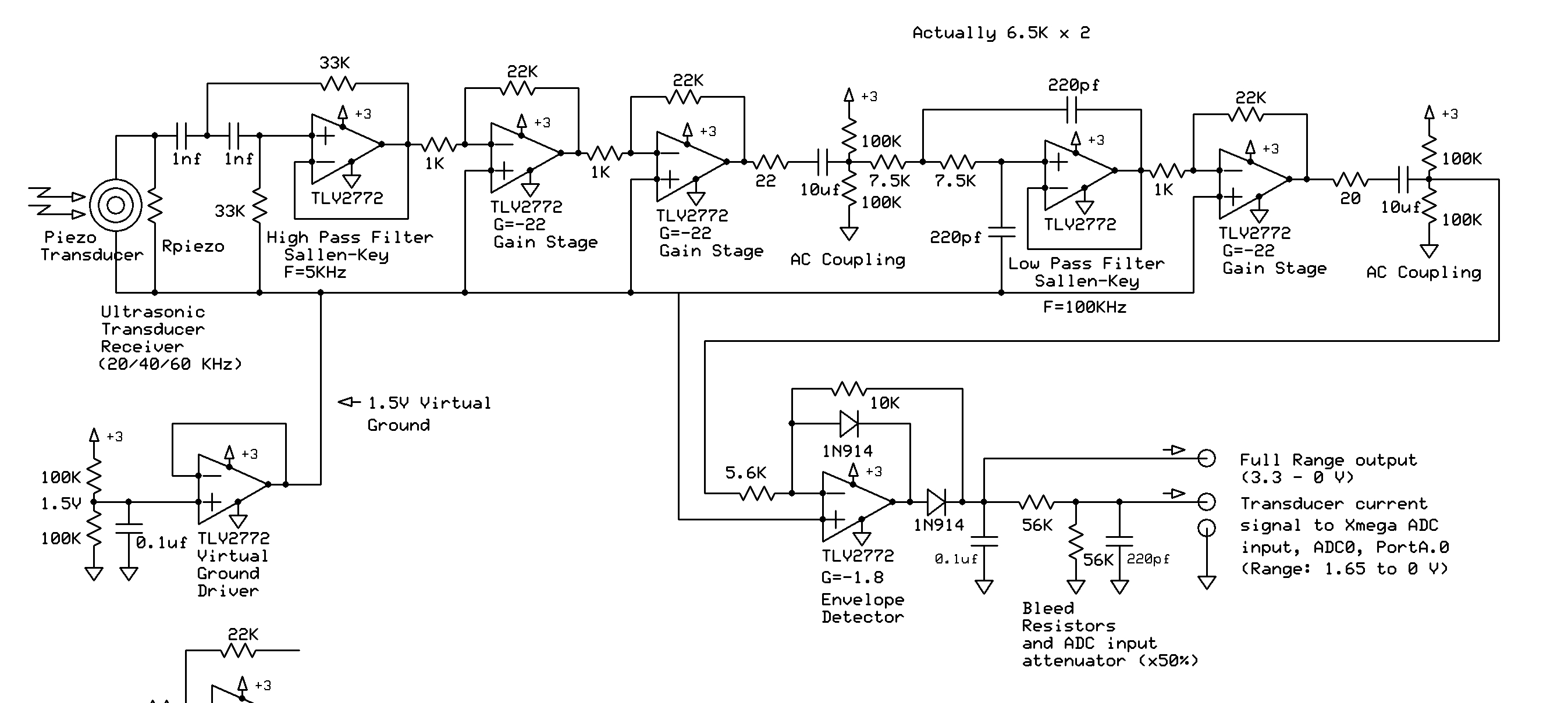 Simple Op Amp Circuit Very Noisy Avr Freaks Supply Summing Amplifier For Audio Mixer Schematic Diagram Jc