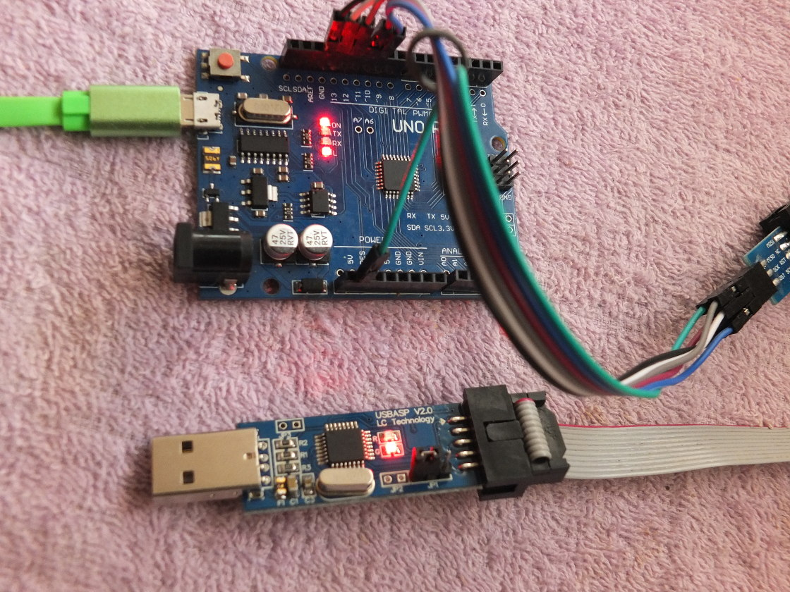 Avrdude Not In Synch Error With Usbasp Avr Freaks Usb Programmer For Atmel Controllers Nexuscyber Which Is Wired To The Like