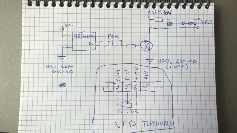 Designing a 0-10VDC circuit to drive VFD | AVR Freaks