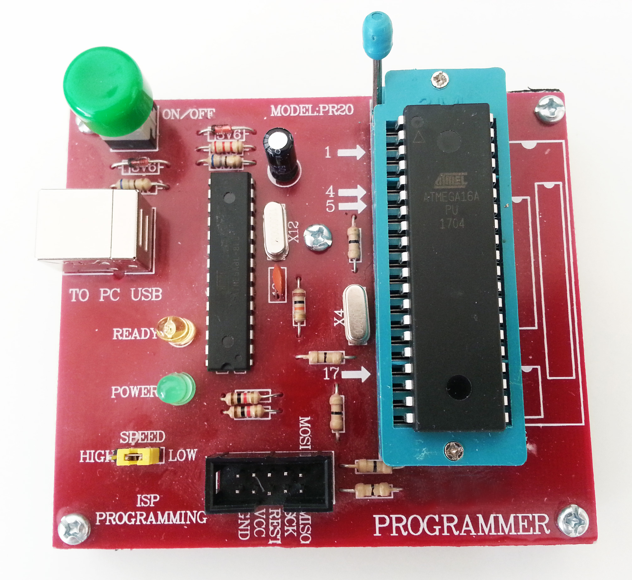 Usbasp Programmer Not Work With Usb Isolator Adum3160 Avr Freaks Isp In Sytem For Atmel I Have Old That Pretty Mcu And Progisp Software