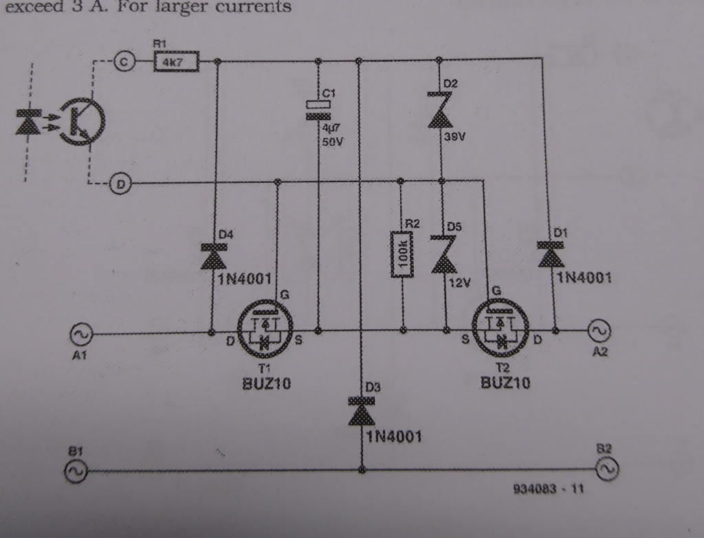 Mosfets For Switching Ac Avr Freaks Mosfet Relay Switch Circuit Anyways How About