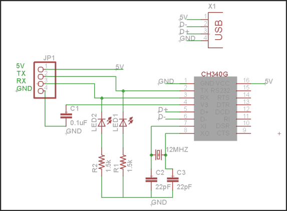 Rx tx voltage and leds avr freaks