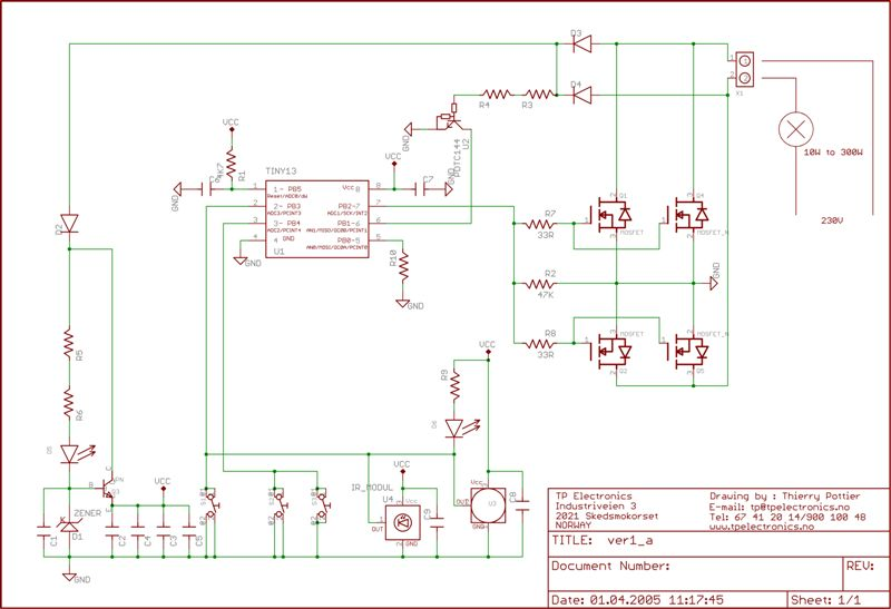 Can An Avr Be Connected To A Mosfet Gate Directly Avr