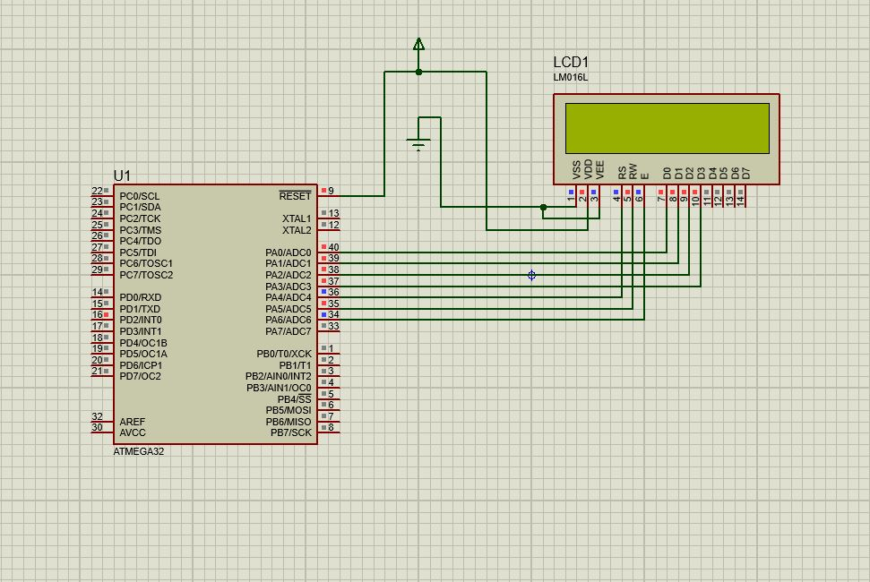 16x2 LCD INTERFACING WITH ATMEGA32 | AVR Freaks