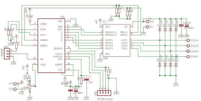 Step Motor Controller With Atmega8 And L298 Heat Problem Avr Freaks