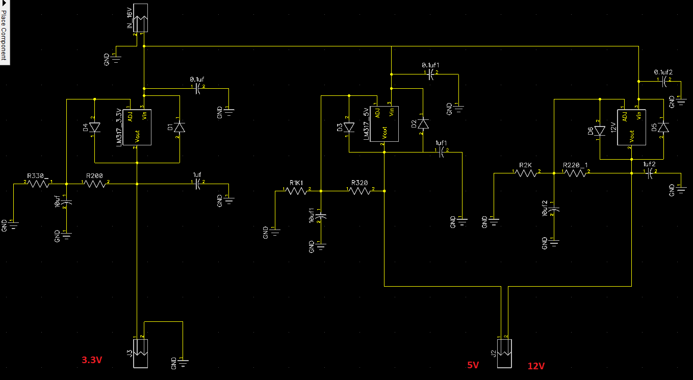 Will This Do For A Breadboard Power Supply Avr Freaks Increase The Current Ic Lm7805