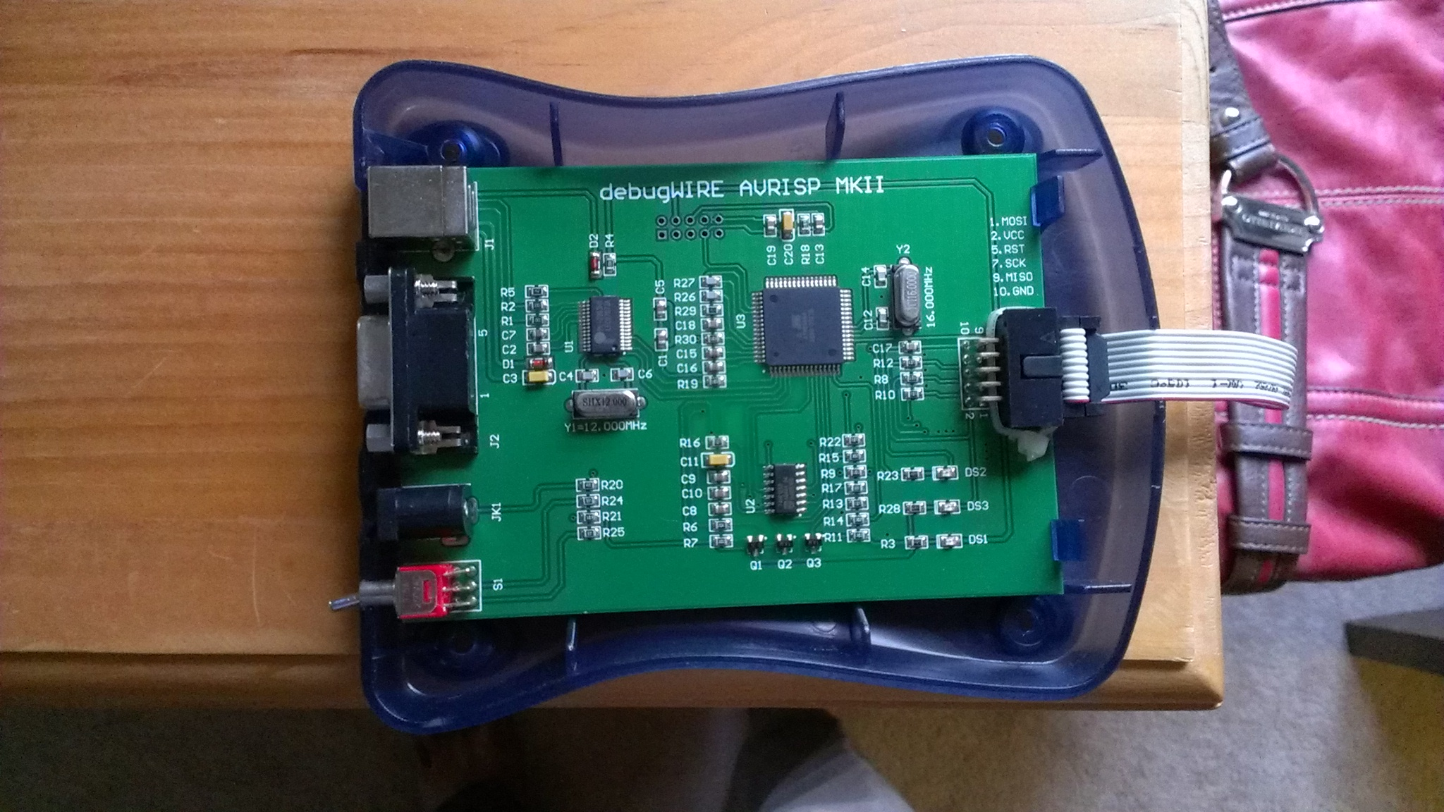 Avr Isp Programmer In Sytem For Atmel Need Help To Resurrect Debugwire Mk2 Freaks Imag1447