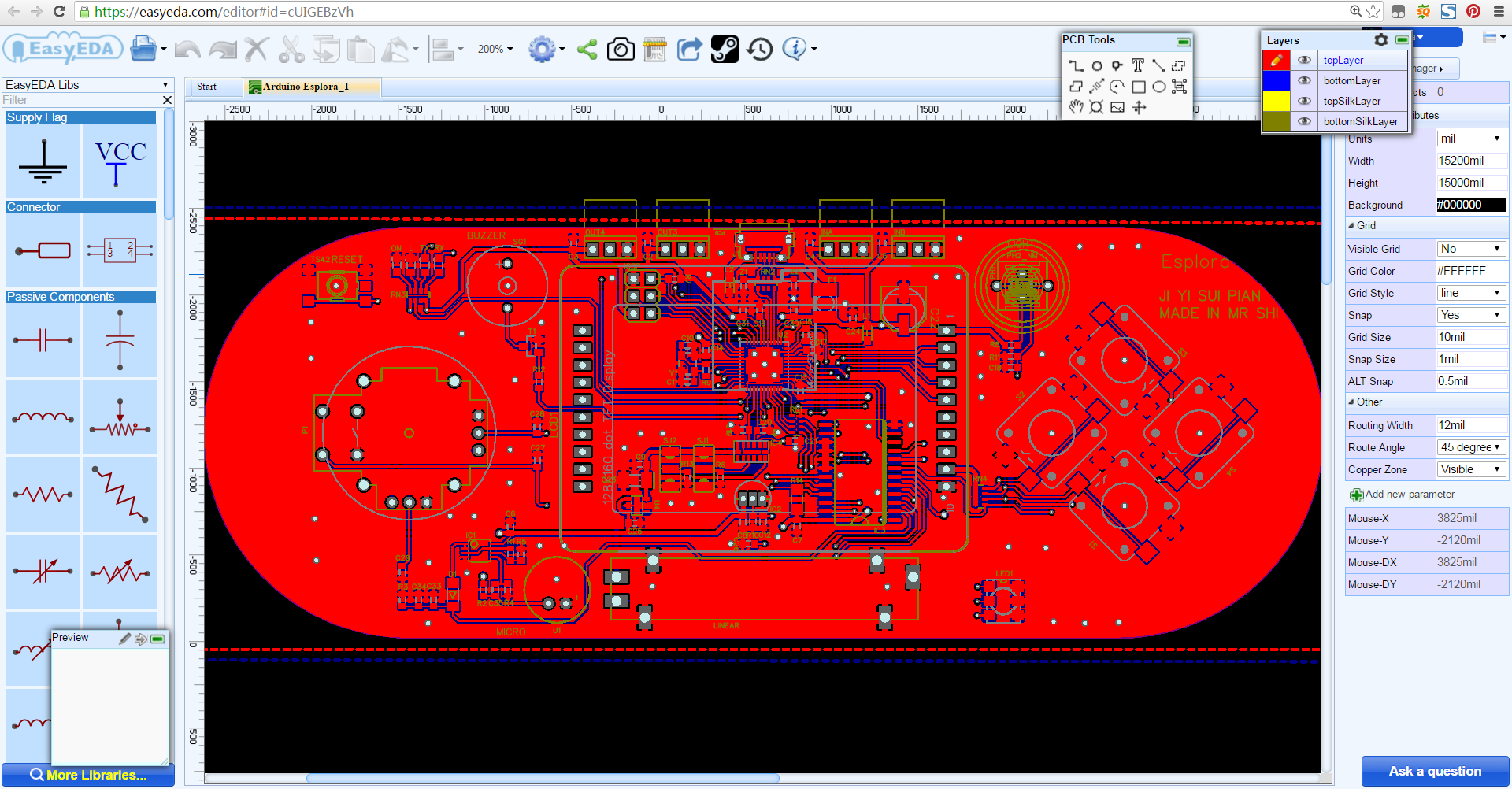 Schematic And Pcb Design Programs Avr Freaks Multilayer Printed Circuit Board Clone Manufacture Arduino