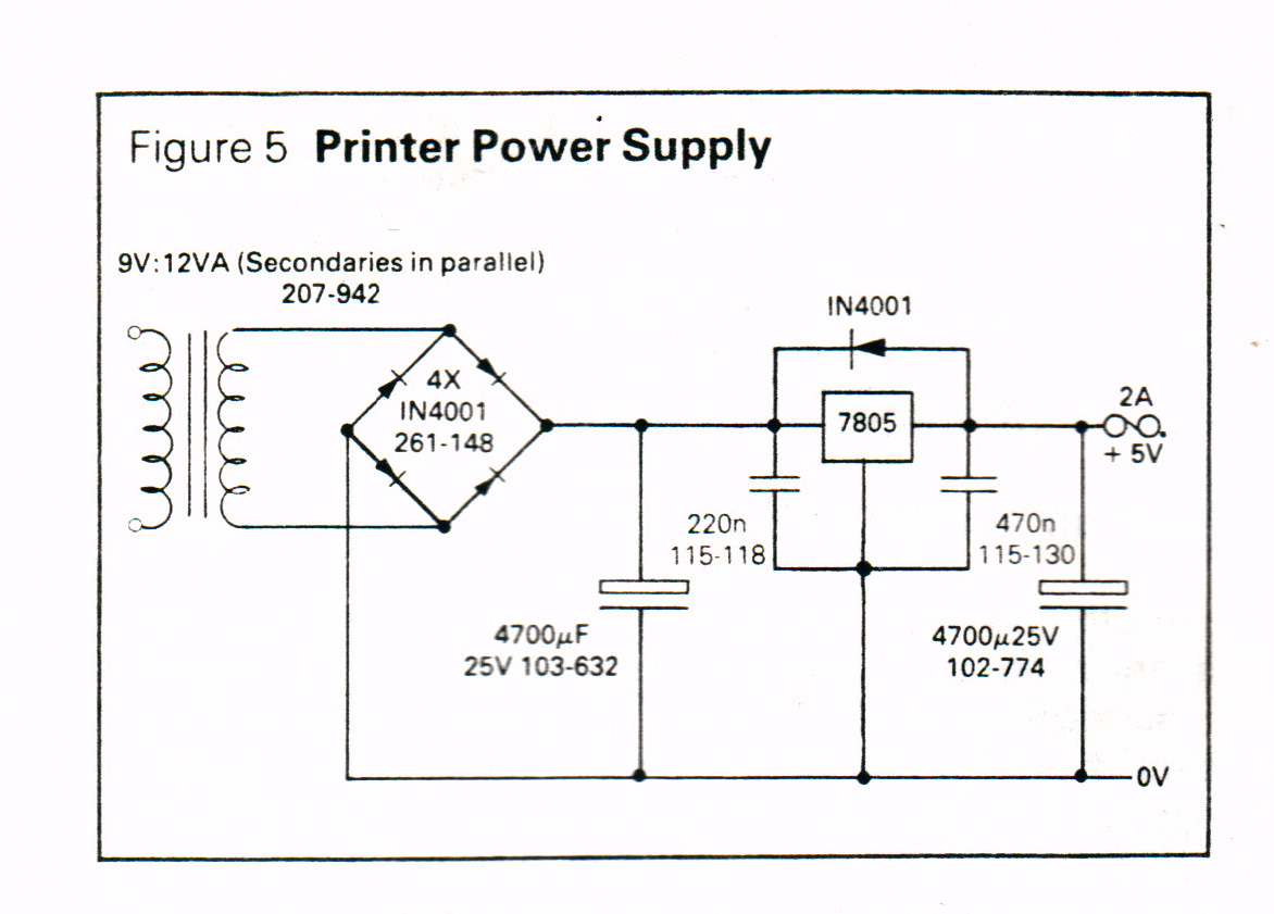 9v12va Secondaries In Parallel Power Supply Avr Freaks 12vdc Regulated With Schematic Diagram Share The Psu