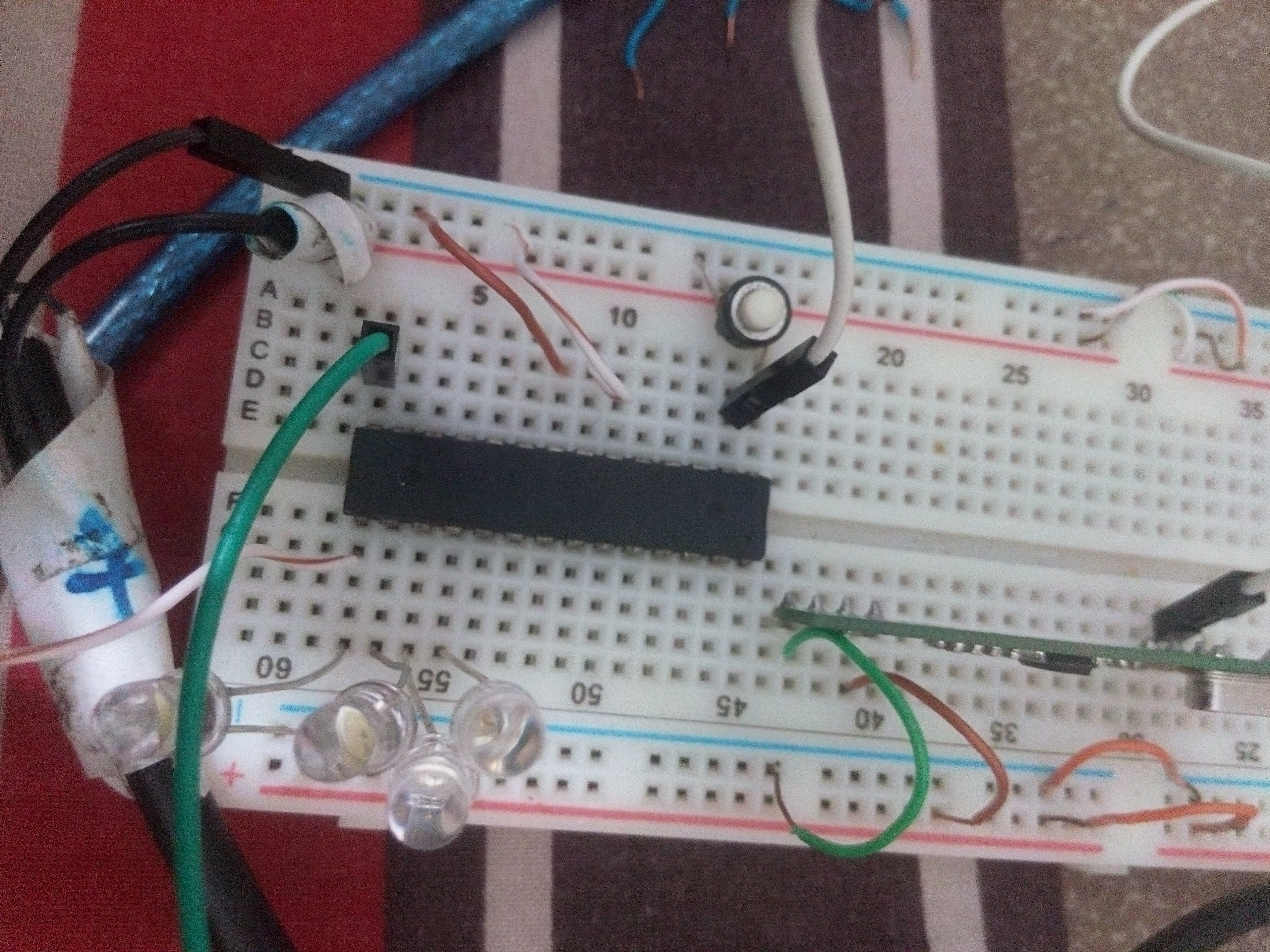 Rf Based Remote Controlled Car Not Responding Need Help Avr Solved My Circuit Receiver Mcu