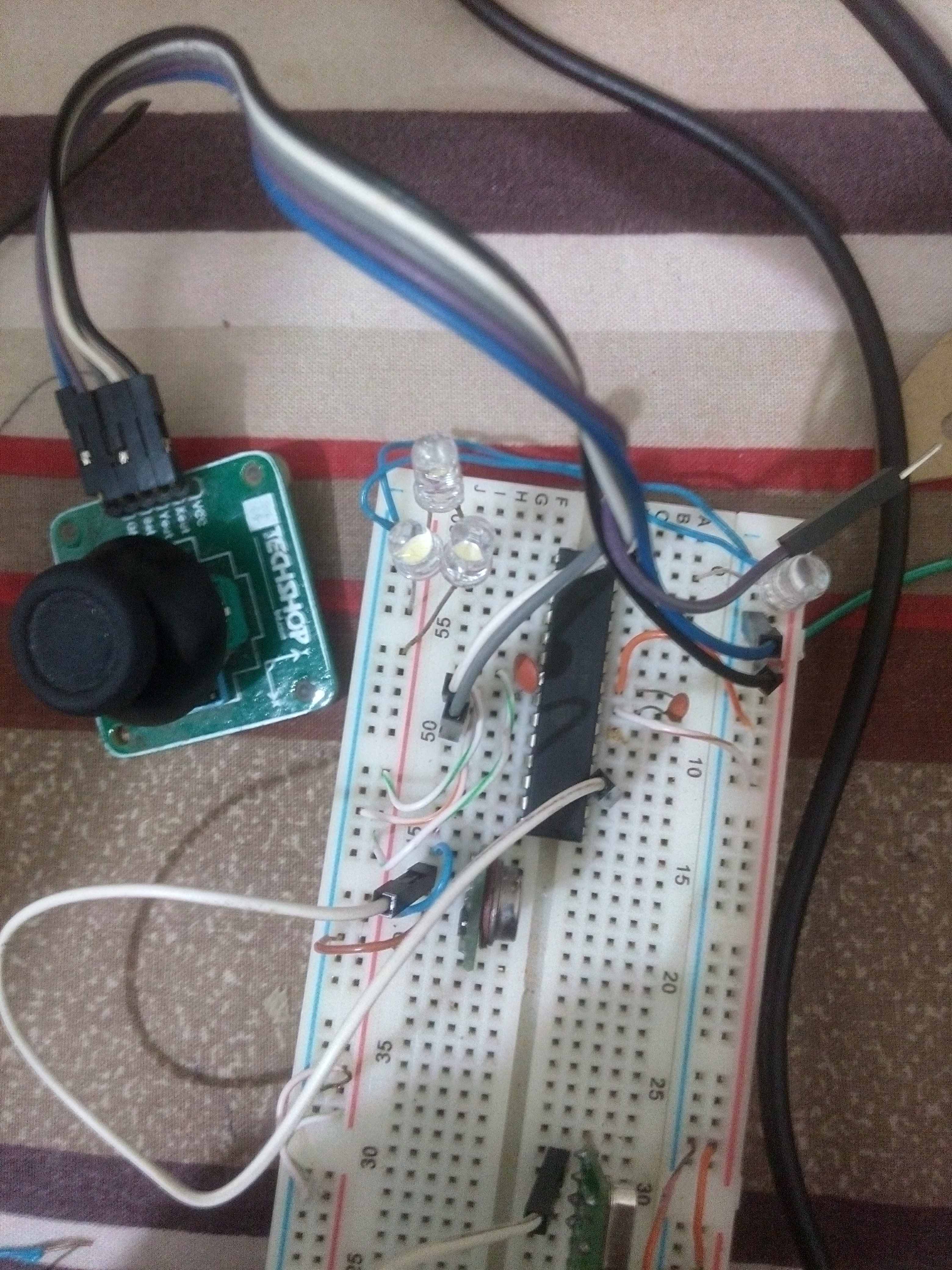 Rf Based Remote Controlled Car Not Responding Need Help Avr 433mhz Transmitter Circuit Diagram Mcu With Joystick
