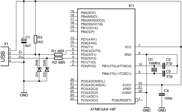 atmega32a with bootloader