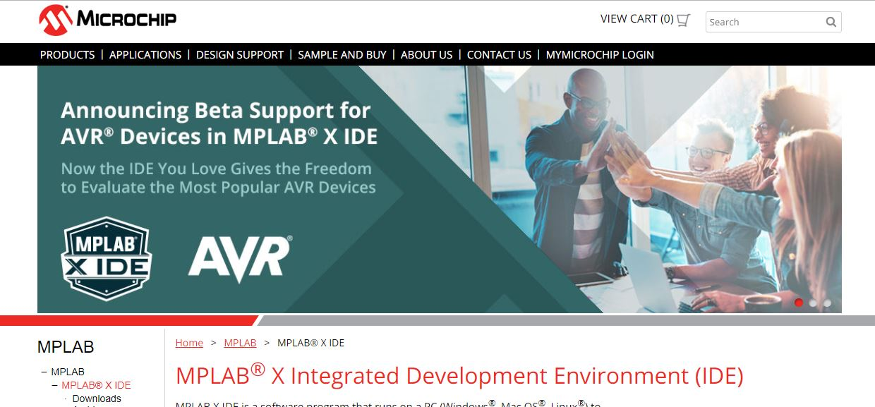 Come Join Us (MPLAB Now Supports AVRs) | AVR Freaks