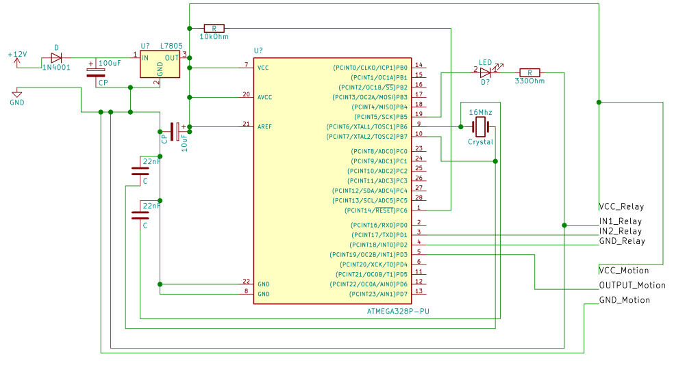 My schematic should look like this
