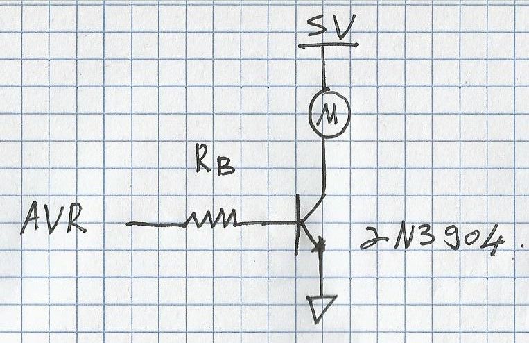 BJT switch speed-up capacitor + base resistor calculation? | AVR Freaks