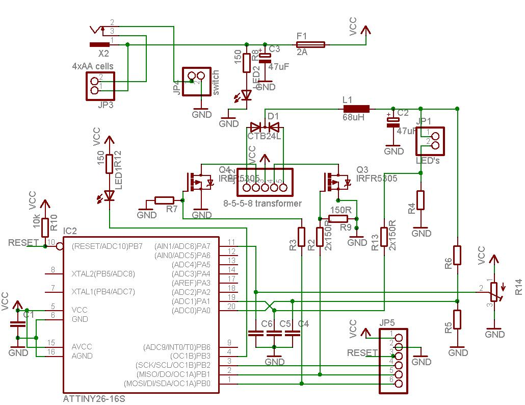 Constant Current Source Avr Freaks This Ic 556 Pure Sine Wave Inverter Circuit Homemade