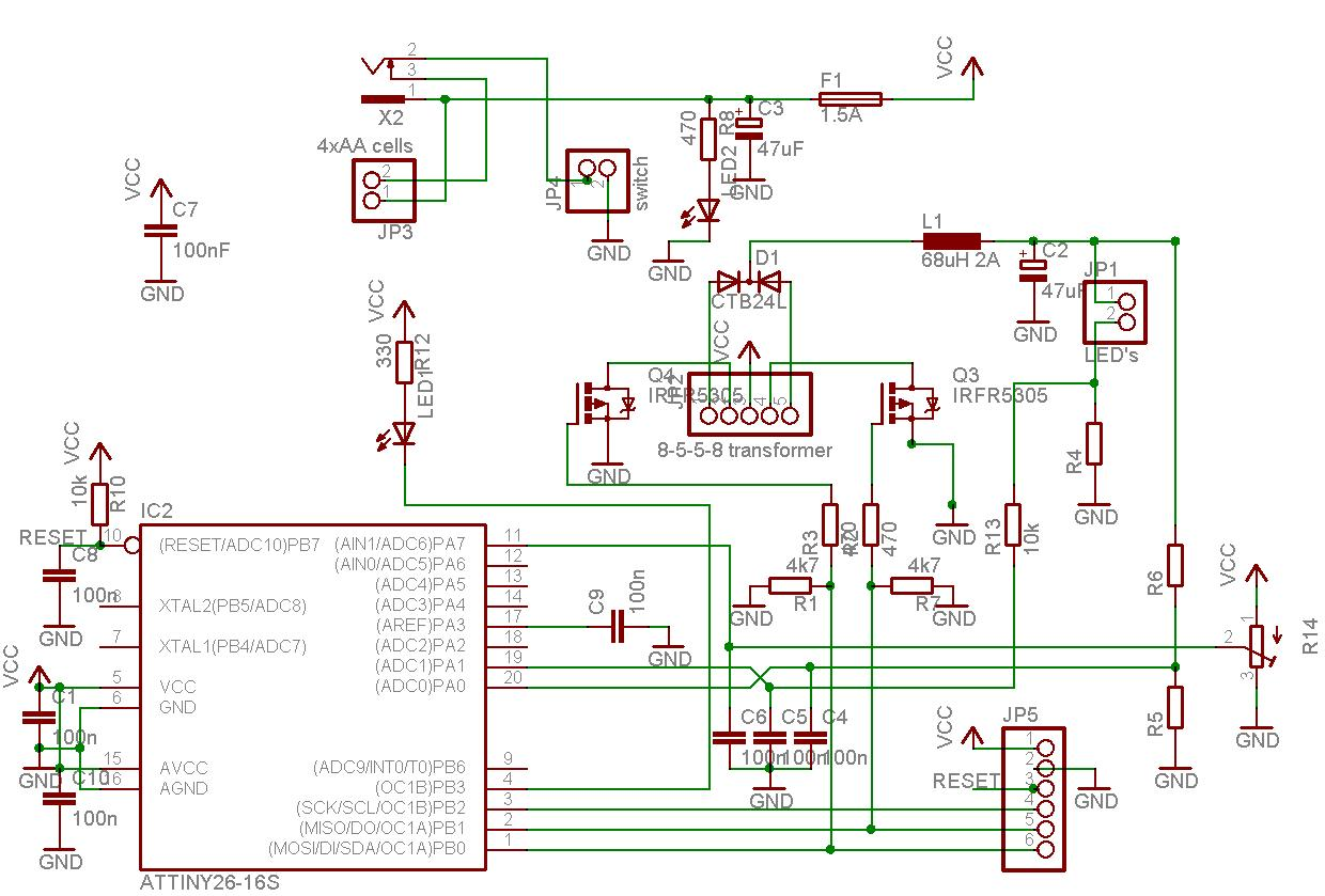 Bug Zapper Circuit Diagram Moreover Electric Fence Charger Circuit