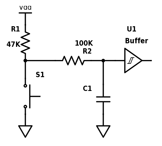 proper button circuit