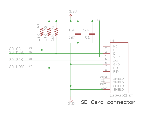 Please Help With Sd Card Reader Connections Avr Freaks