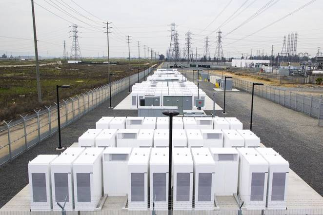 Tesla Motors, Southern California, battery stacks