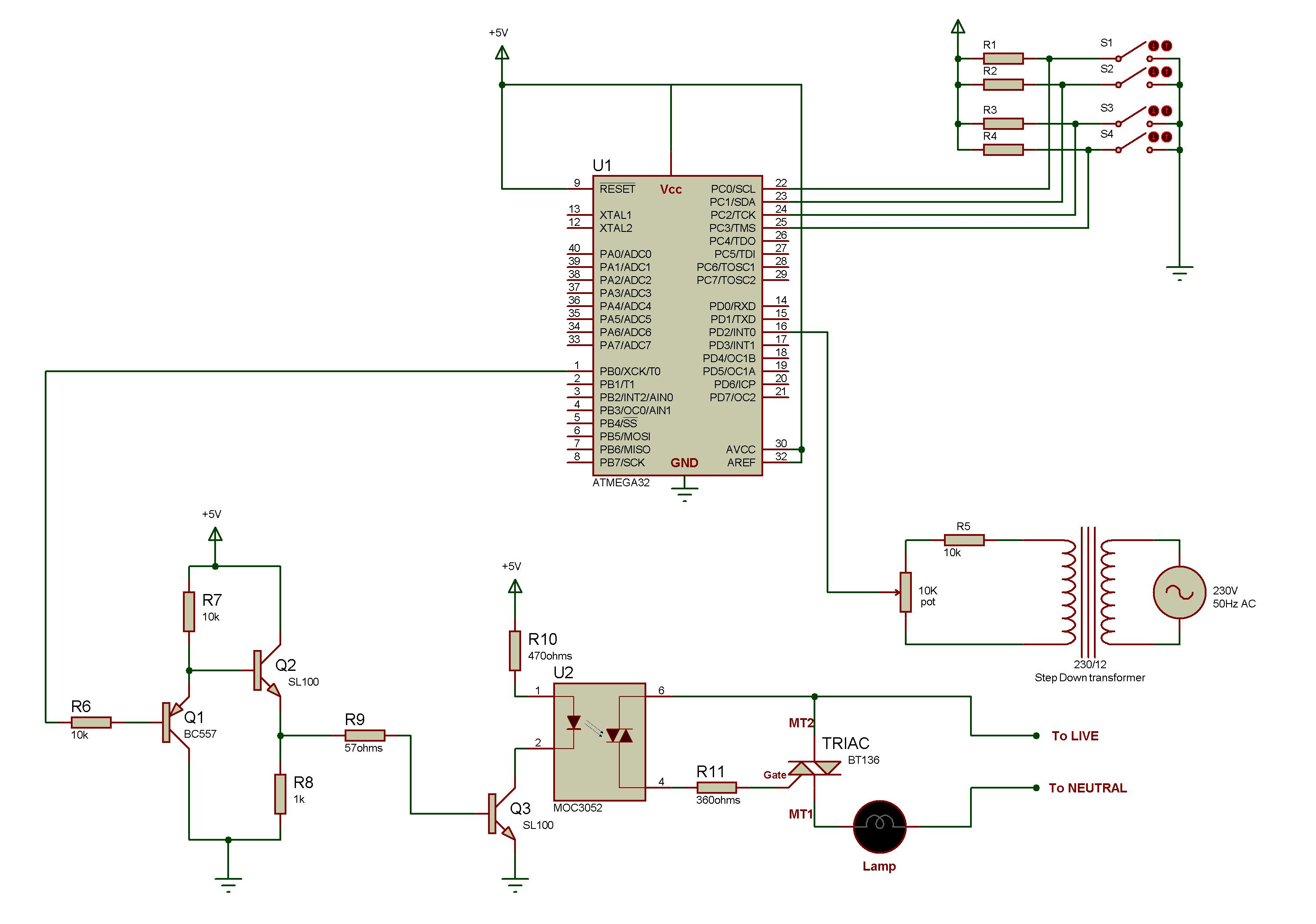 Help Needed For Driving Triac In A Dimmer Project Avr Freaks Led Circuit Using 555 Timer Workin